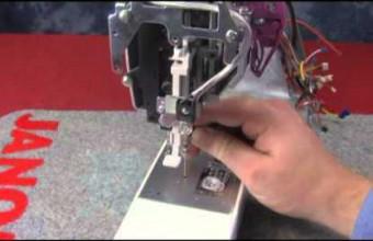 MC350E   center needle position