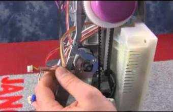 MC350E   changing the power unit