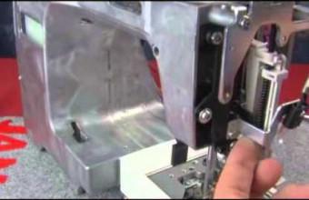 MC350E   threader plate adjustment