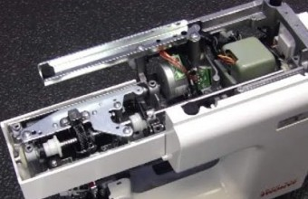 Janome DC2014 – Replacing the Lower Shaft