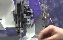 Janome DC2014 – Replacing the Presser Bar